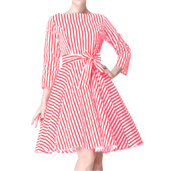 55bd07e4008 Heroecol Dresses   Skirts - ⬇  35 1950s Style Red White Pinup Rockabilly  Dress